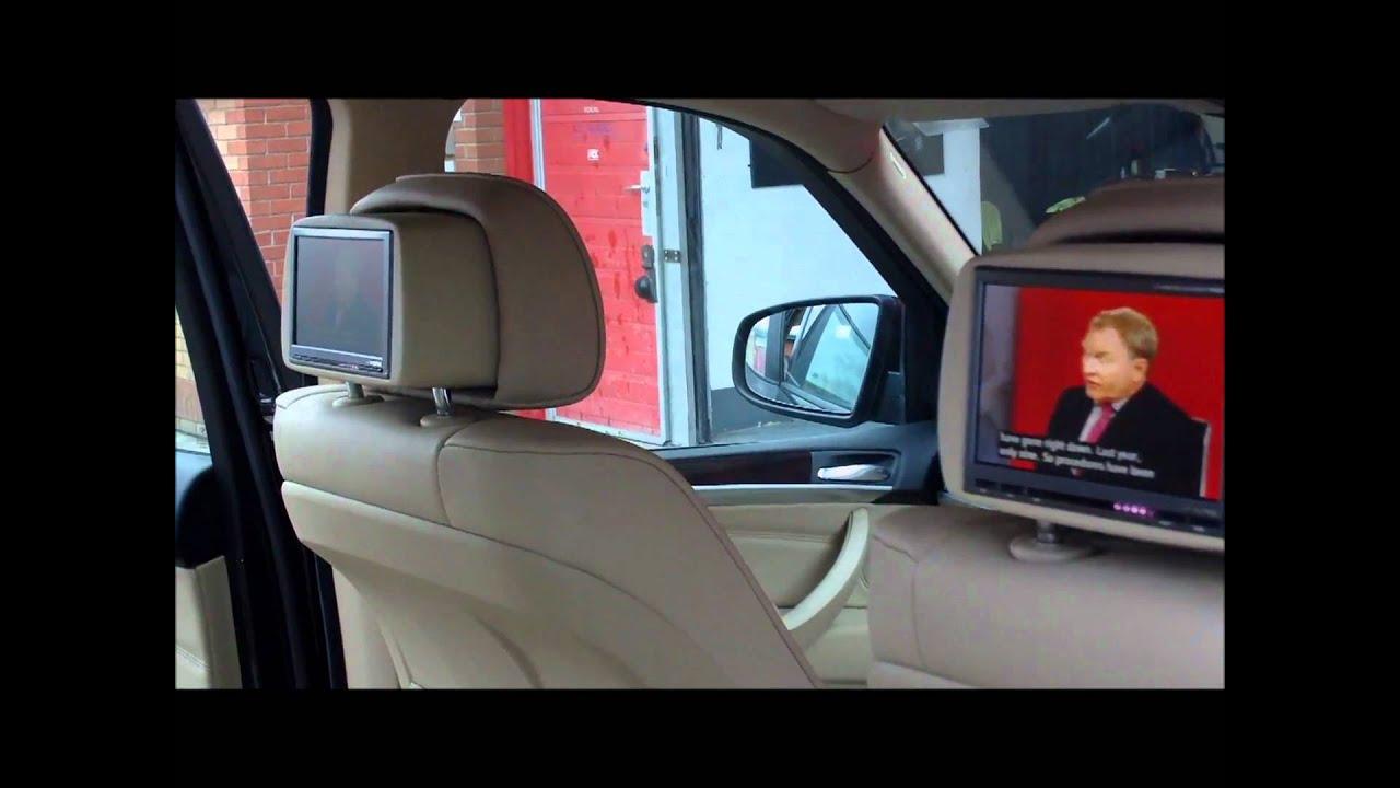 Bmw X5 Rear Screen Upgrade Youtube