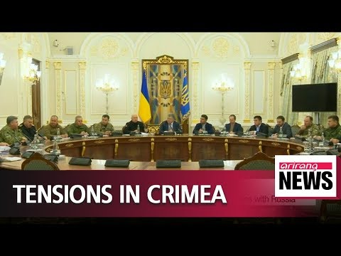 Ukraine declares martial law after renewed tensions with Russia