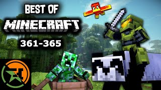 The Very Best of Minecraft 361-365 Achievement Hunter Funny Moments