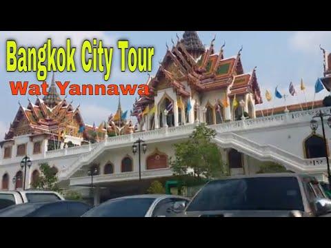 Bangkok Temple Tour    Wat Yannawa    The Boat Temple    WBTV