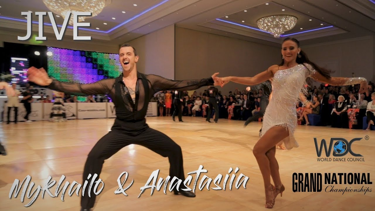 Mykhailo Bilopukhov - Anastasiia Shchypilina (USA) I Jive I WDC World Pro Latin 2019