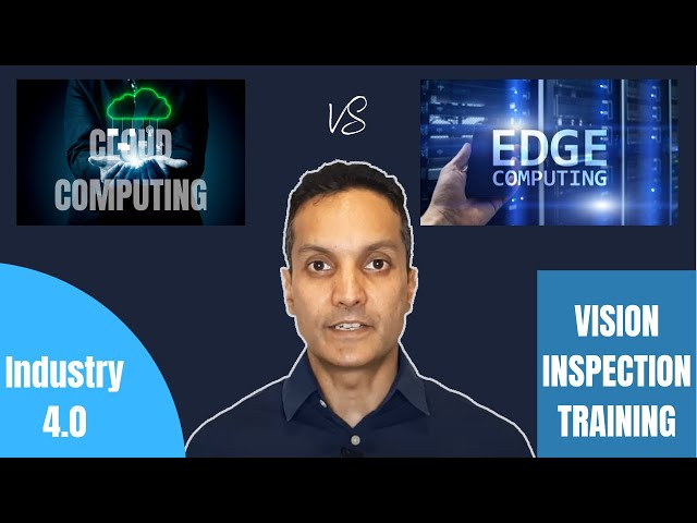 Difference between edge and cloud based training