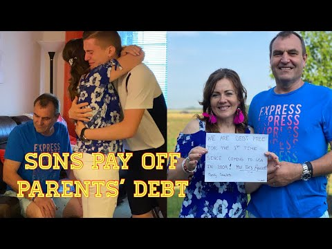 Sons Payoff Their Parents' Debt - Inspiring And Emotion Reaction