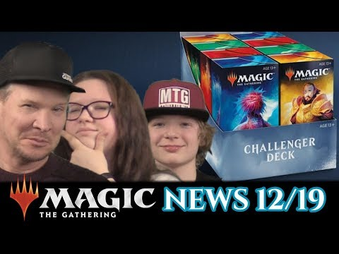Challenger Decks 2019 Magic the Gathering News 12 deutsch traderonlinevideo MTG Trader