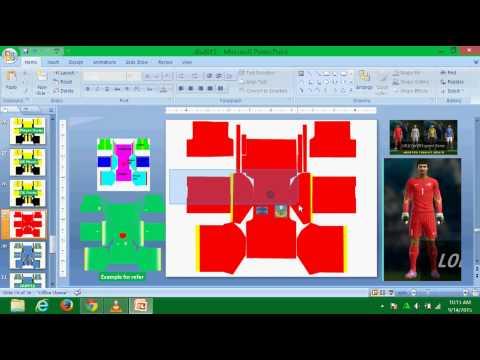 Dream League Soccer - Cara Buat Kits GK - YouTube