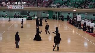 FUKUI vs NARA 10th All Japan Interprefecture Ladies KENDO Championship 2018 1st Round