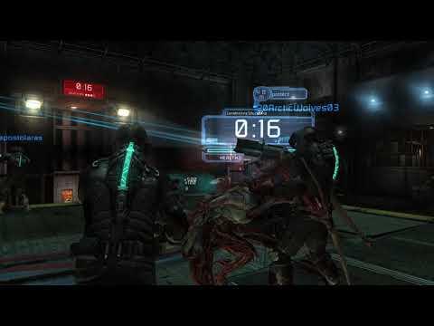 Dead Space 2 Multiplayer - 4 vs 3 Match - Titan Mines  
