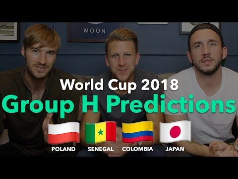 WORLD CUP PREVIEW - GROUP H - Poland / Senegal / Colombia / Japan