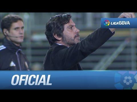 Debut de Quique Sánchez Flores como entrenador del Getafe CF