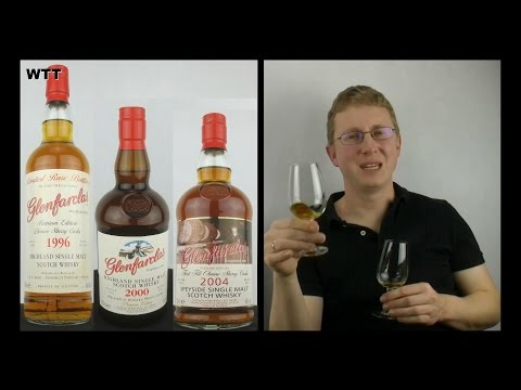 3x Glenfarclas - 1996 vs 2000 vs 2004 First Fill