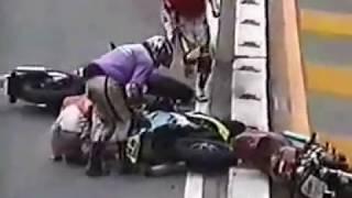 峠&湾岸 バリバリマシン世代! バイク 走り屋 クラッシュ集 Street Racing in Japan Clash thumbnail