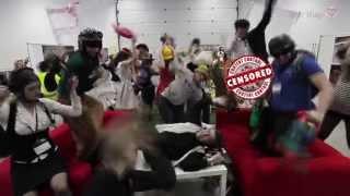 Ведущий сорвал Свадебный Фестиваль-Harlem Shake с Макс Маркевич