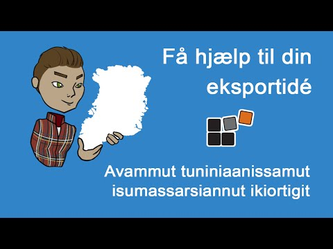 Eksportrådgivning fra Greenland Business