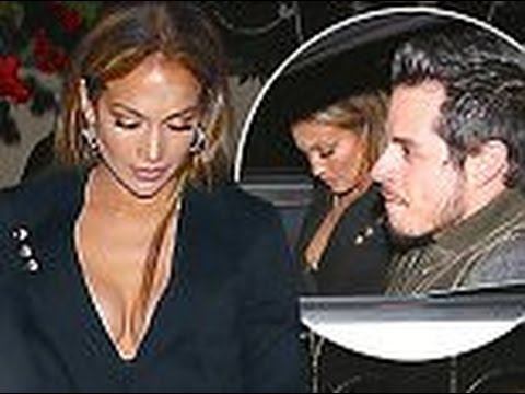Just friendly exes Jennifer Lopez enjoys a dinner date with Casper Smart after taking home gong at M