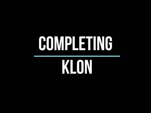 KLON PROCESS