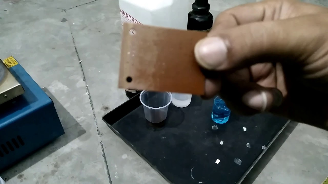 DIY Electroless Copper Plating - Plating Glass and PCB - Hindi - Part 4
