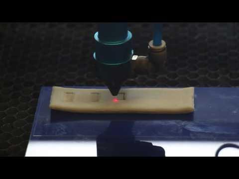 Laser Baking - Power vs. Speed Tradeoff