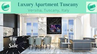Luxury Apartment for Sale Tuscany Versilia - AZ Italian Properties - Penthouse with Seaview Tuscany