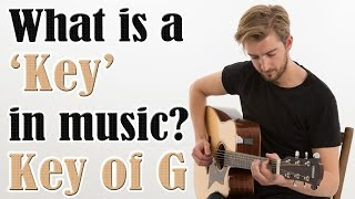 What is a Key on guitar? The EASY key of G | Beginners Music Theory