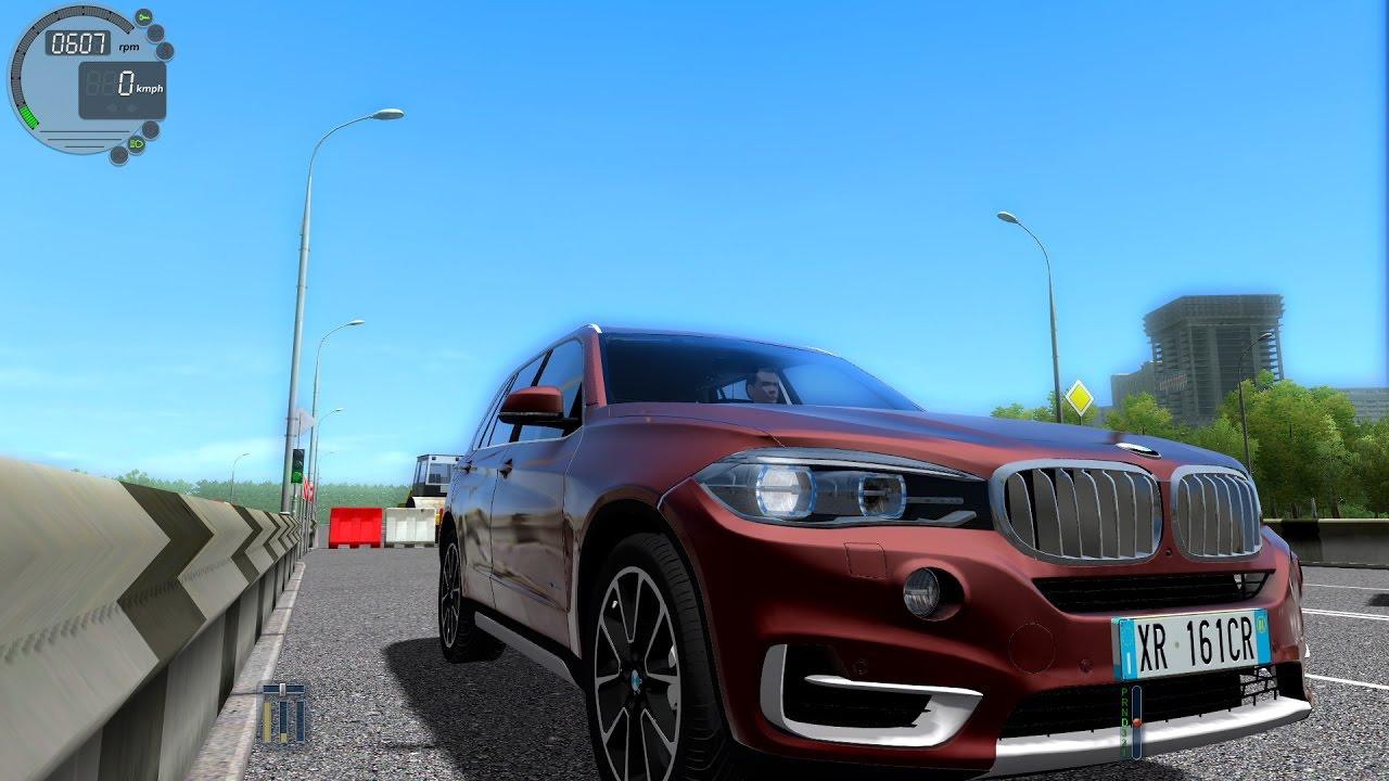 905ba12727db City Car Driving 1.5.2 BMW X5 F15 xDrive 3.0d TrackIR 4 Pro  1080P ...