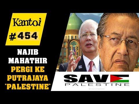 TERKINI!!! Najib Razak + Tun Mahathir pergi ke putrajaya - himpunan Palestine