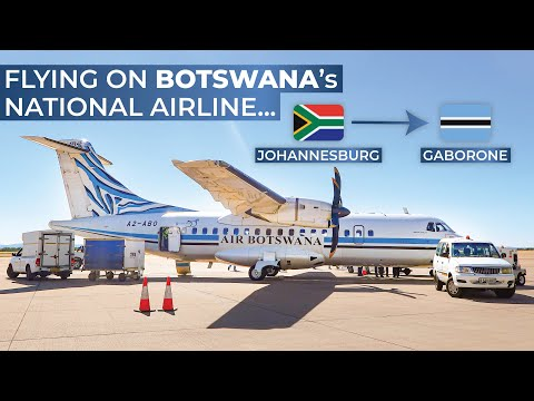 TRIPREPORT | Air Botswana (ECONOMY) | ATR 42-500 | Johannesburg - Gaborone