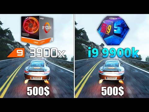Ryzen 9 3900x Vs I9 9900k Test In 9 Games