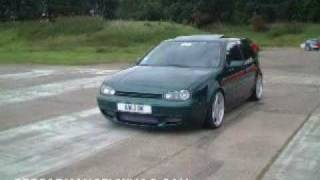 Awesome GTI VW Golf Mk4 with Stage 3 APR Turbo