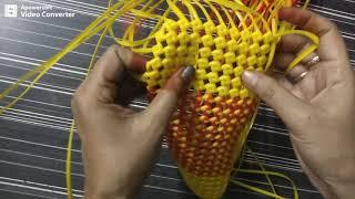 Corner turning || Normal knot basket - மூலை  திருப்புவது எப்படி?