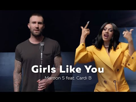 Maroon 5 - Girls Like You Ft. Cardi B (Ringtone) (2018)