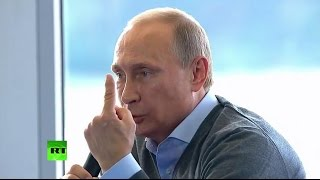 Putin: Anything US touches turns into Libya or Iraq