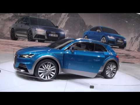 Audi Allroad Shooting Brake als Audi TT concept - Interview Christian Bangemann NAIAS Detroit