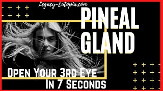 Repeat youtube video Open Your 3rd Eye 7 Second PINEAL GLAND EXERCISES