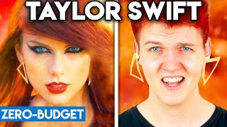 Gambar cover TAYLOR SWIFT WITH ZERO BUDGET! (Bad Blood PARODY)