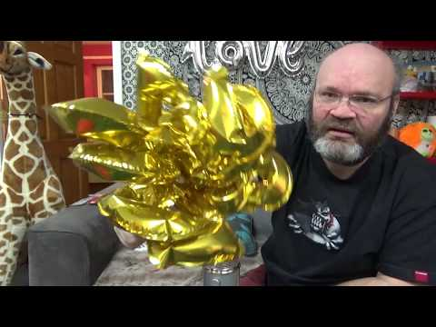 #60 Self Inflating 0 to 9 Foil Balloon Fun Tangobaldy