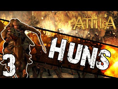 Total War: Attila - Huns Campaign #3 ~ Economic End?!