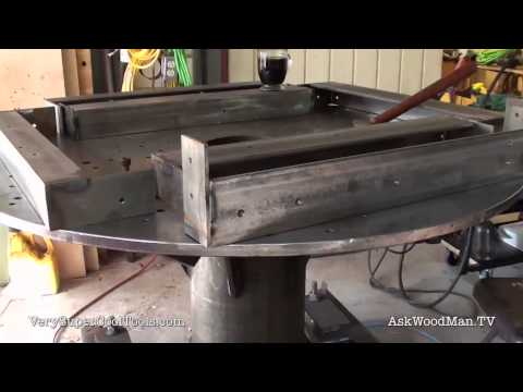763. Steel Fabrication • Tablesaw Work Station Series