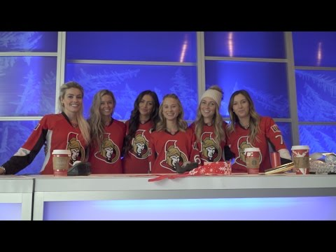 Bayshore Gift Wrap with the Sens Wives