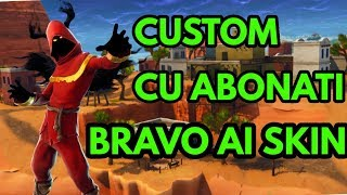 CUSTOM+BRAVO AI SKIN-HAI REPEDE-190 WINS +-FORTNITE ROMANIA