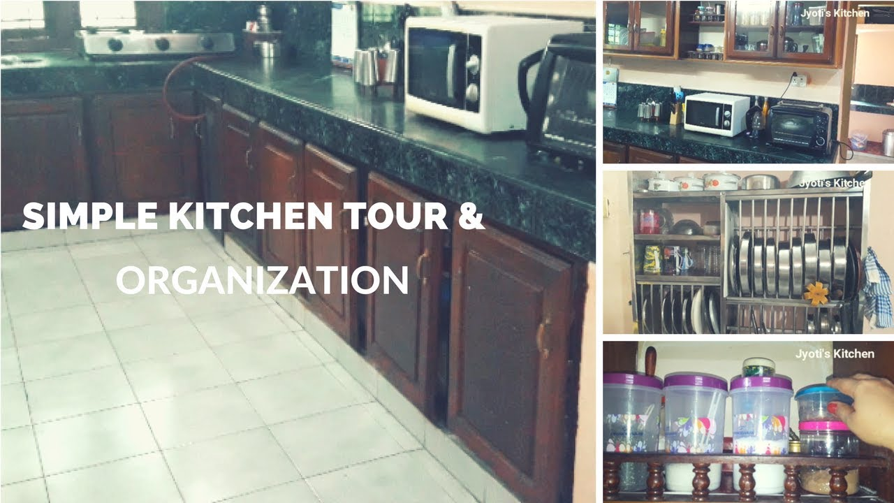 Kitchen Tour How To Organise Unfurnished Kitchen Without Cabinets Youtube