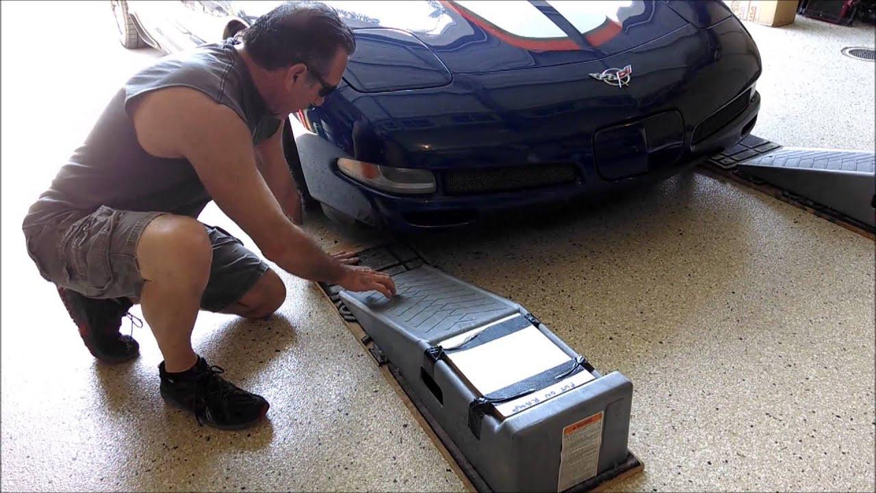 ramps drive corvette froggy