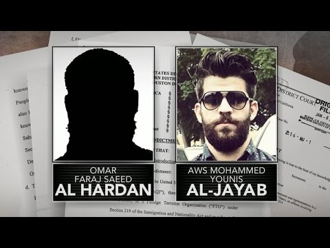 Two Iraqis in U.S. accused of supporting terrorism
