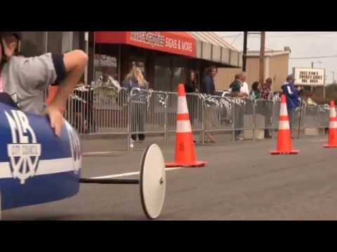 North Little Rock Middle School Dogtown Derby 2015