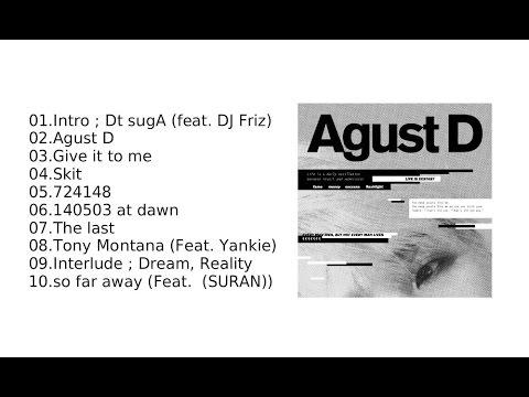 Full Agust D Agust D Bts Suga 1st Mixtape Download