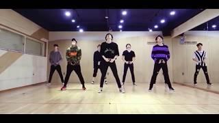 GOT7 (갓세븐)  'SKYWAY' DANCE  PRACTICE MIRRORED