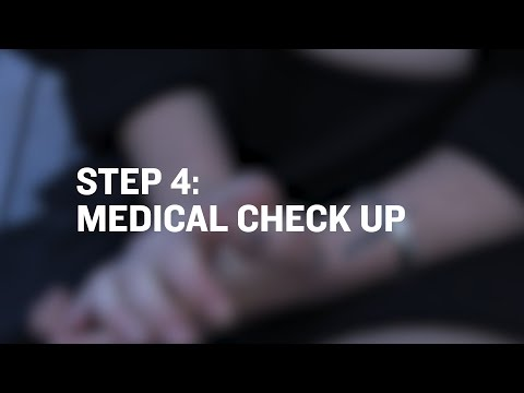 Reporting Sexual Assault To Police STEP 4 - Medical Check Up