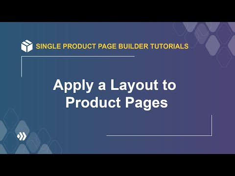 How to Apply a Layout to Product Pages   Magento 2 Single Product Page Builder Tutorial