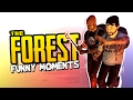 HOW TO NOT SURVIVE 101! - PART 2 (The Forest Funny Moments)