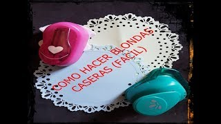 COMO HACER BLONDAS CASERAS (FACIL)