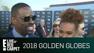 Sterling K. Brown Reads a Text From Oprah at the 2018 CCAs | E! Live from the Red Carpet
